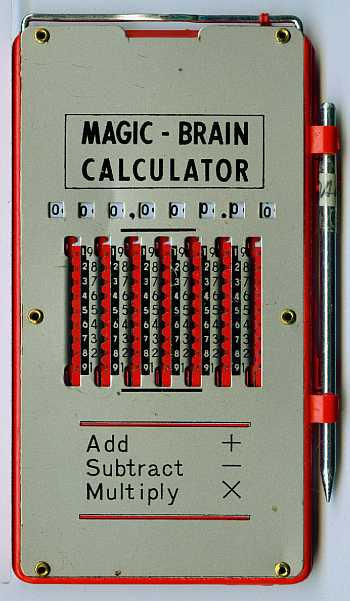 Magic-Brain Calculator (Diestelkamp)